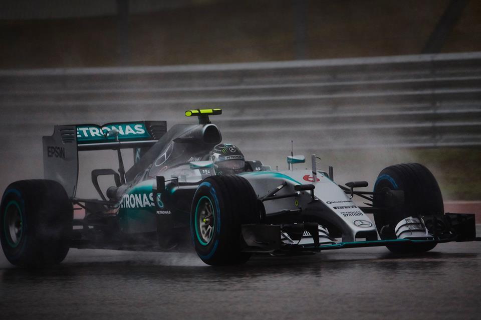 Rosberg consigue la pole en Austin, tras cancelación de la Q3