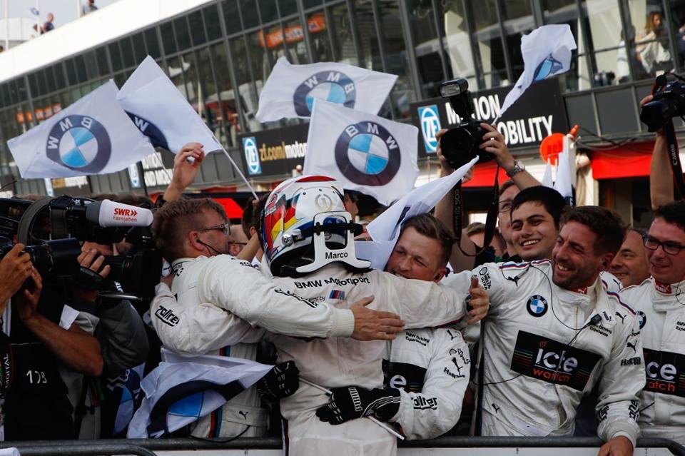 BMW gana el título de Fabricantes del DTM 2015