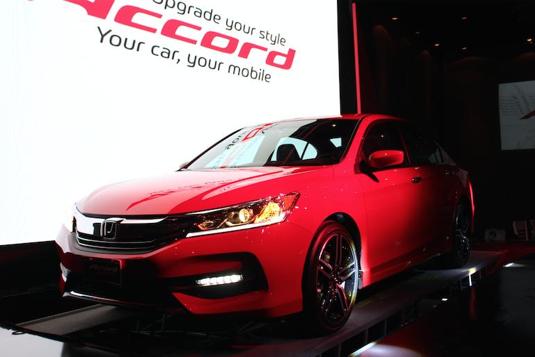 Honda Accord 2016, renueva su estilo