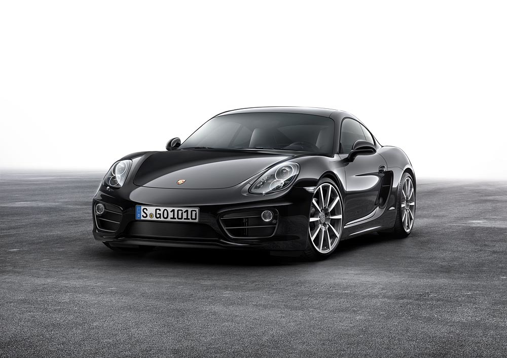 ¿Does it come in black? Porsche Cayman Black Edition