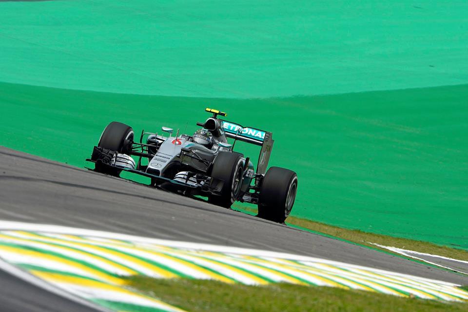 Rosberg consigue la pole por segundo año consecutivo en Interlagos