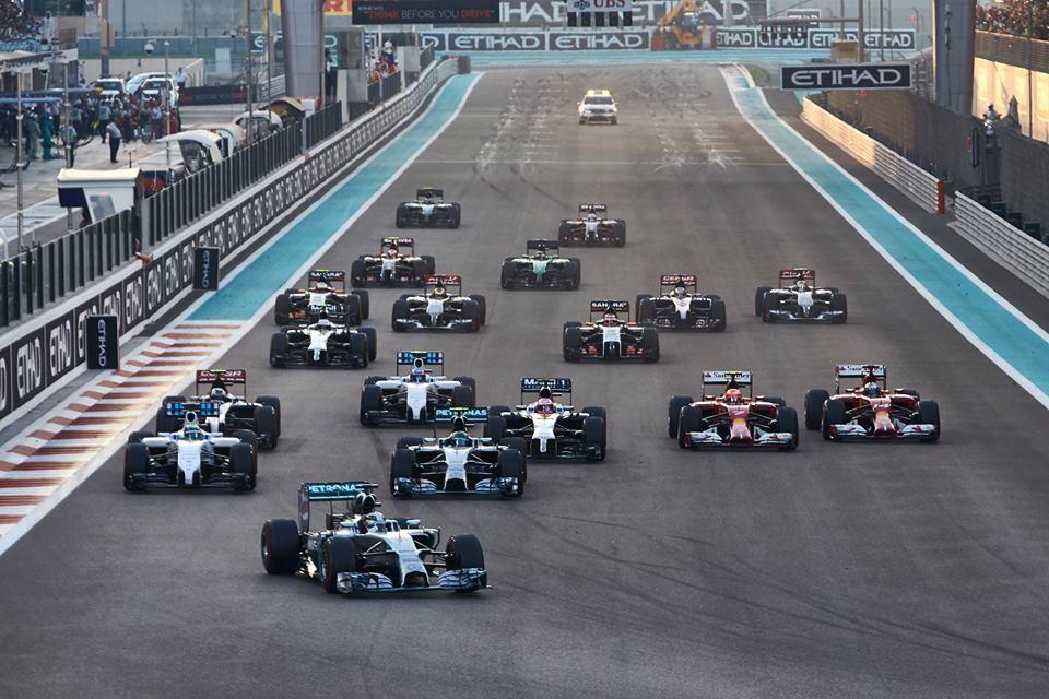 La Fórmula 1 llega a su final de temporada