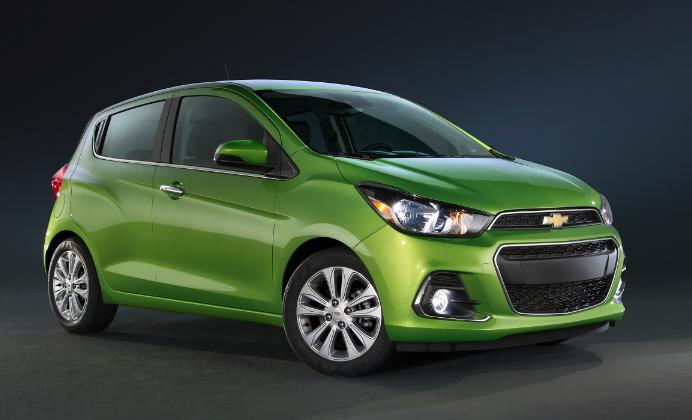 Chevrolet Spark 2016 inicia en 159,900 pesos