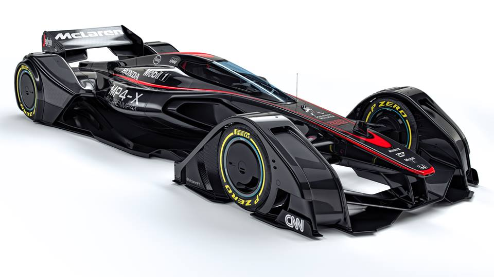 McLaren revela su diseño futurista de un F1