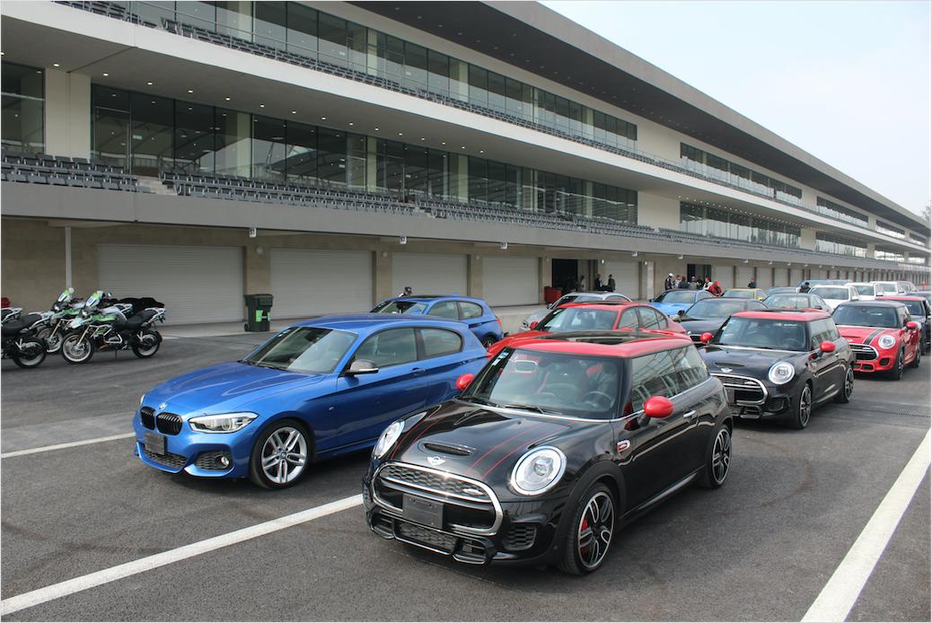 BMW Serie 7 y MINI Clubman, días de trueno