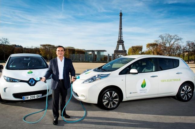 200 vehículos eléctricos Renault-Nissan en la COP21