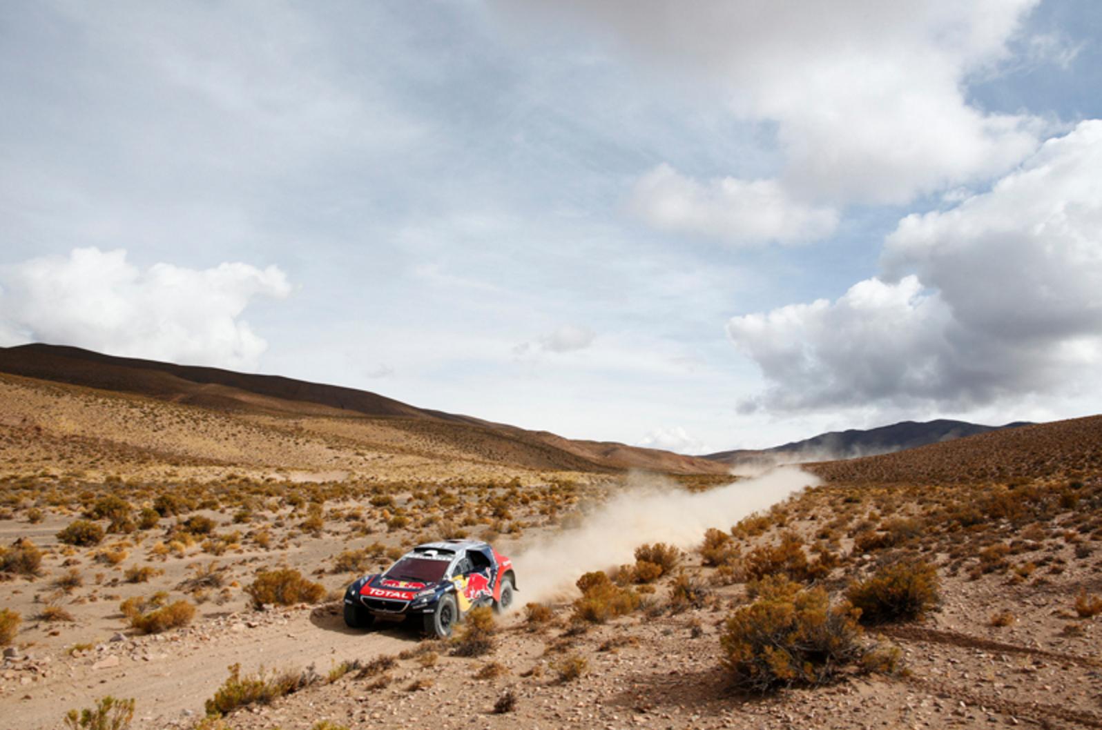 Peugeot se adueña del Rally Dakar