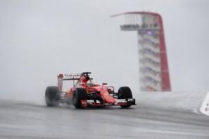 Ferrari prueba neumaticos Pirelli
