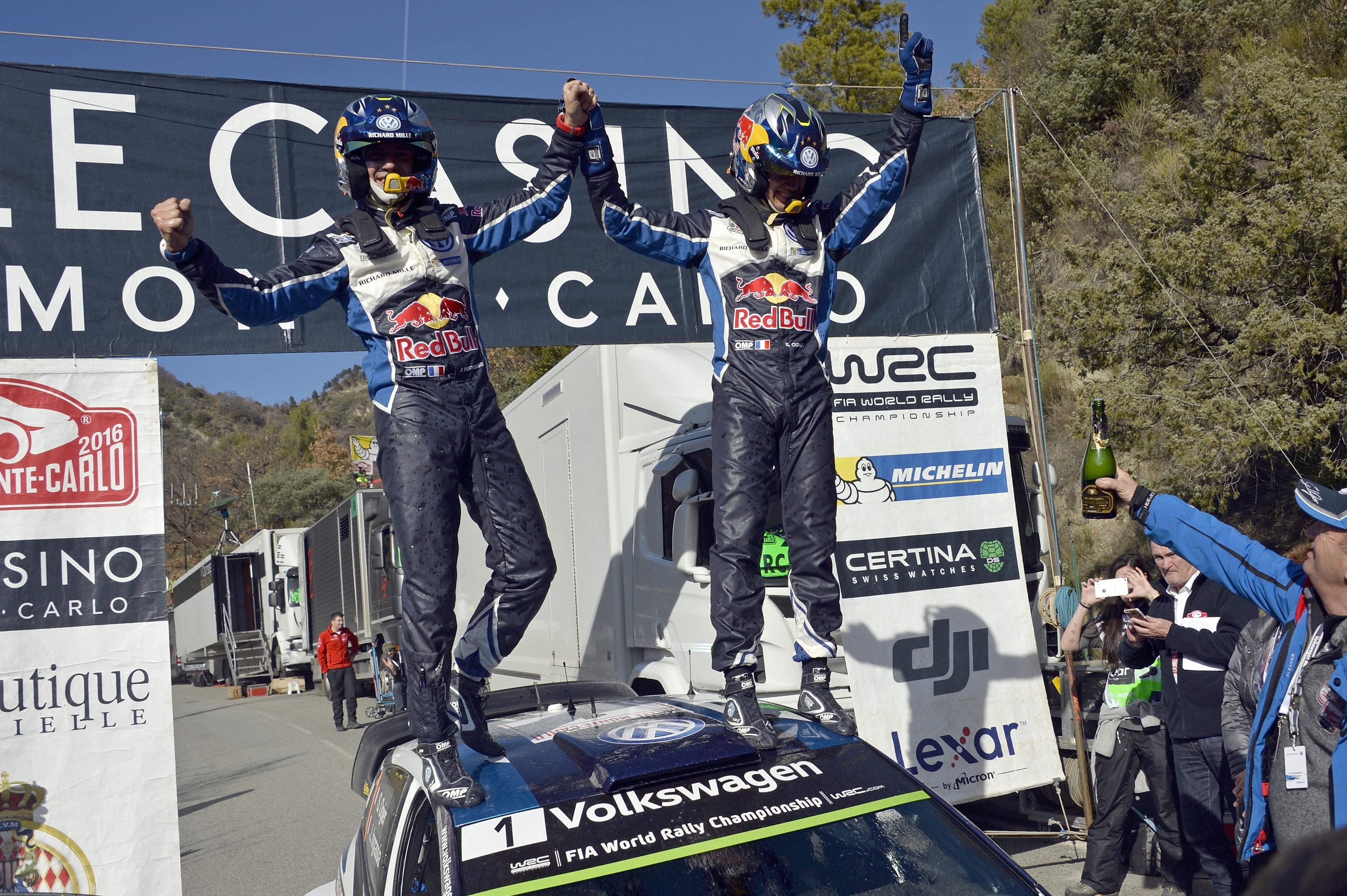 Julien Ingrassia (F), Sébastien Ogier (F) Volkswagen Polo R WRC (2016) WRC Rallye Monte Carlo 2016