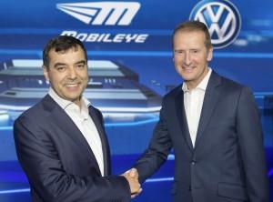 CES 2016 in Las Vegas ? Mobileye und Volkswagen bilden strategische Partnerschaft
