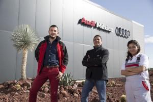 Sesión de Retratos en la Planta Audi