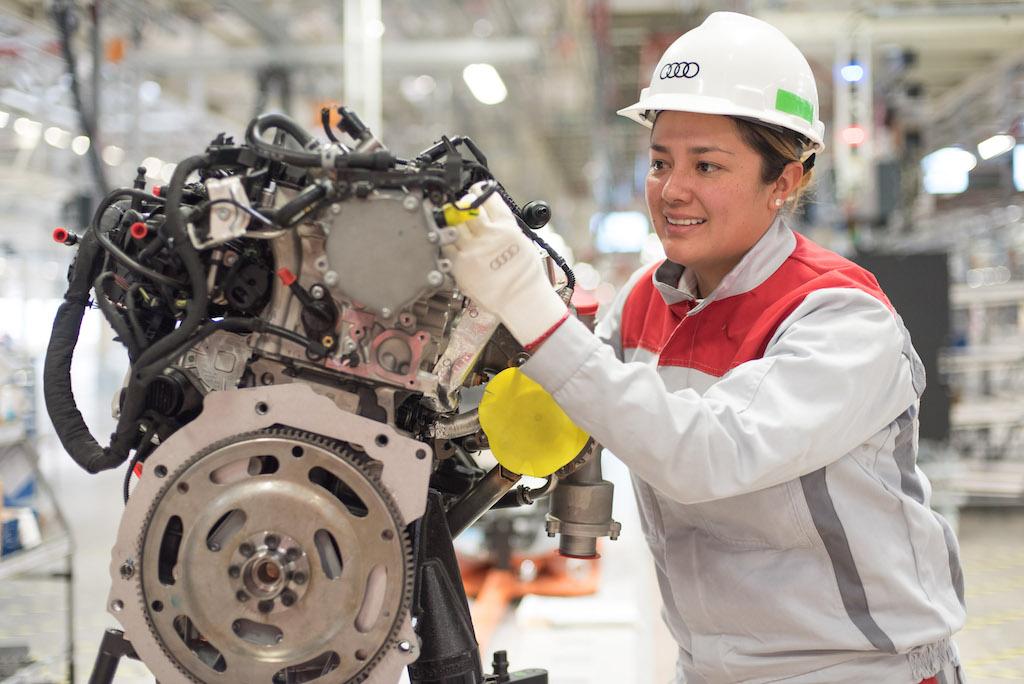 Audi México: 4 mil 200 puestos de trabajo a finales de 2016