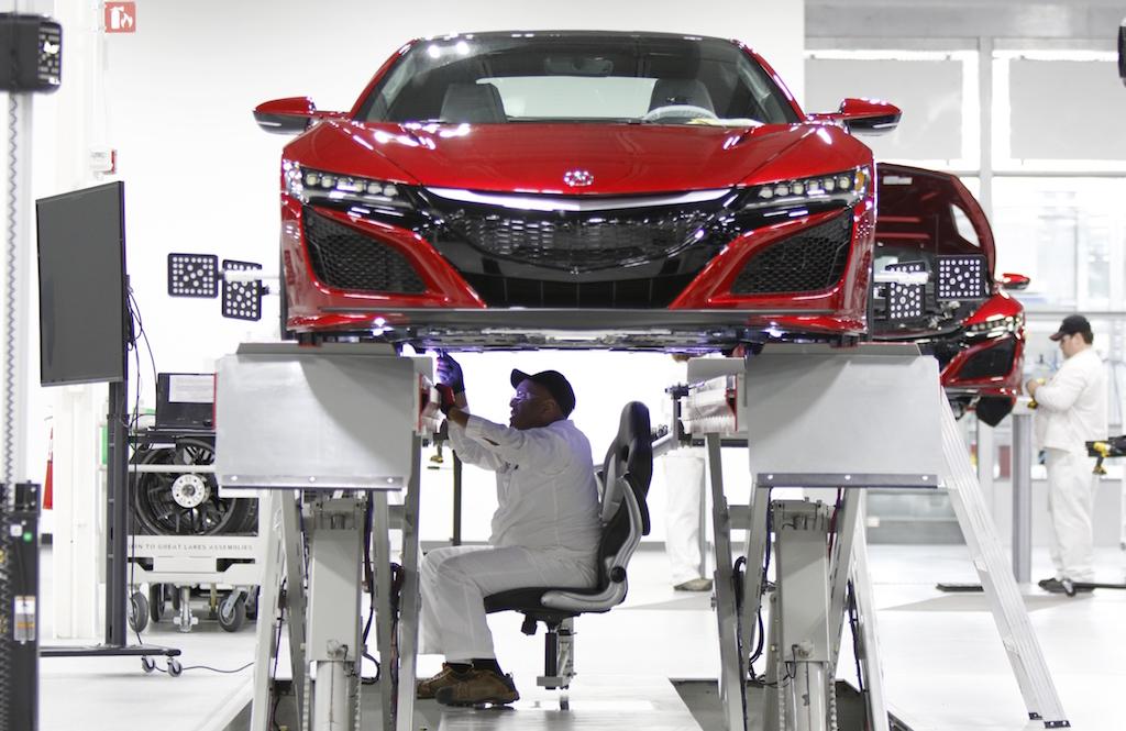 Acura NSX listo para su producción