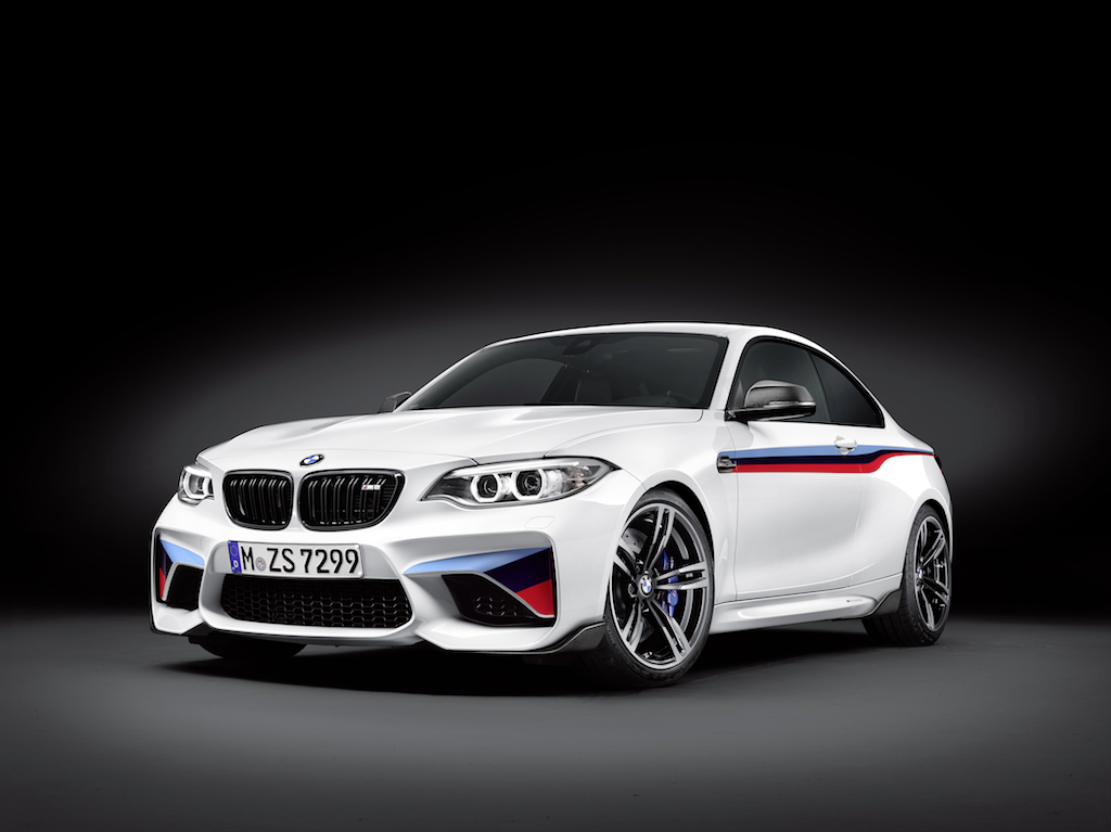 Nueva línea de accesorios BMW M Performance para el BMW M2 Coupé