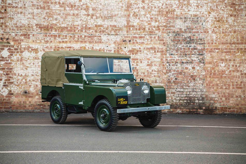 De regreso a la historia: Reborn, de Land Rover Classic