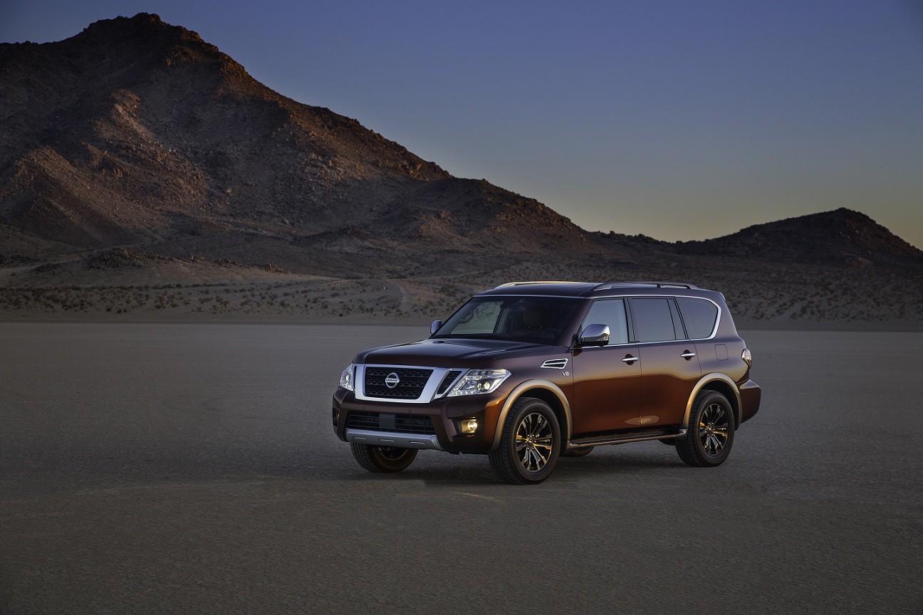 Nissan Armada desafía las dunas en Medio Oriente