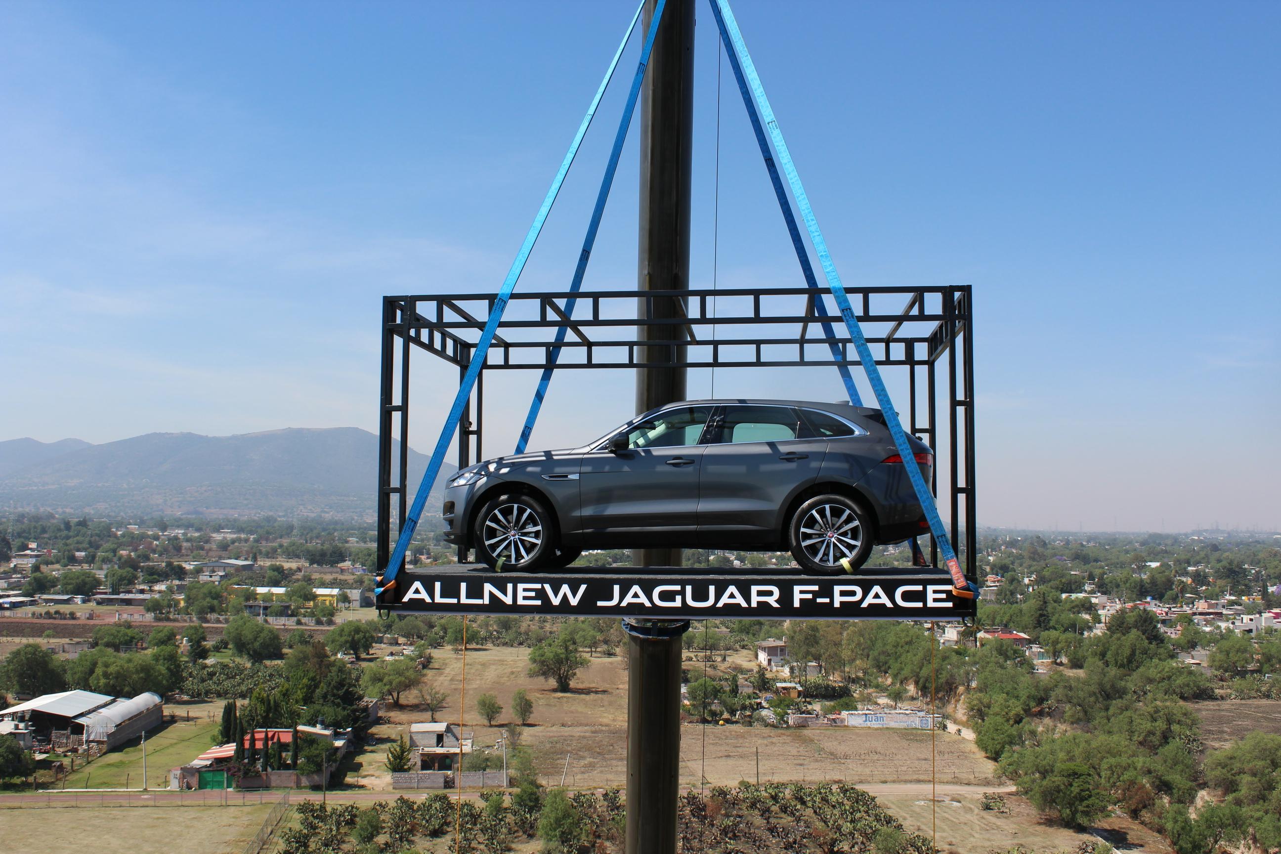 Jaguar F-Pace, lo mandan a volar