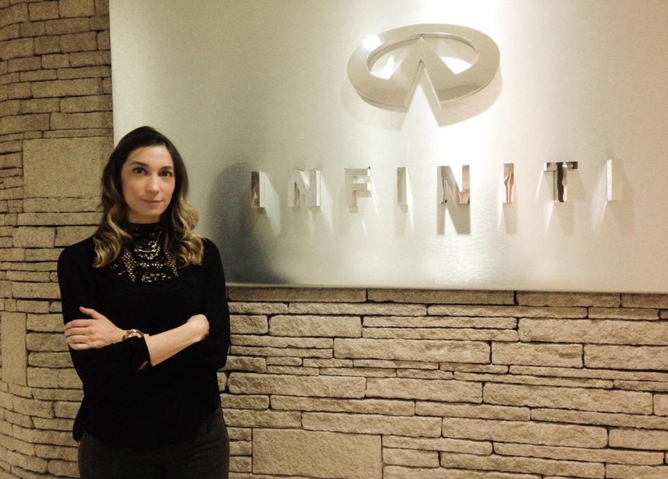 Bienvenida Consuelo Franco Garza, Infiniti México