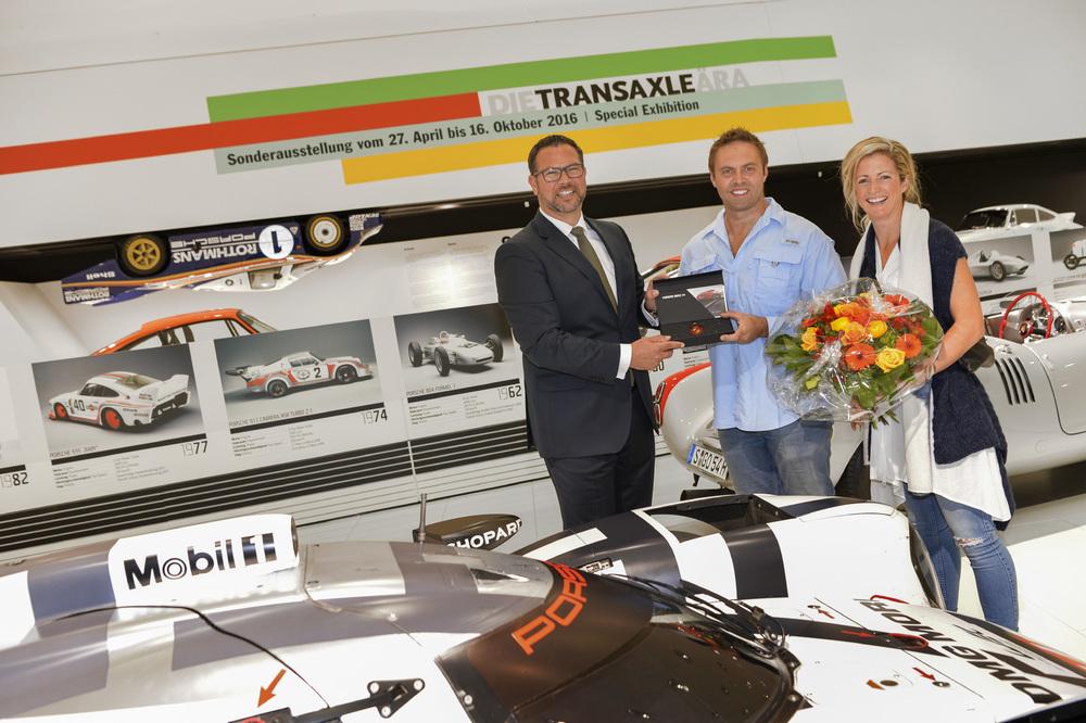 Porsche Museum recibe a su visitante 3,000,0000