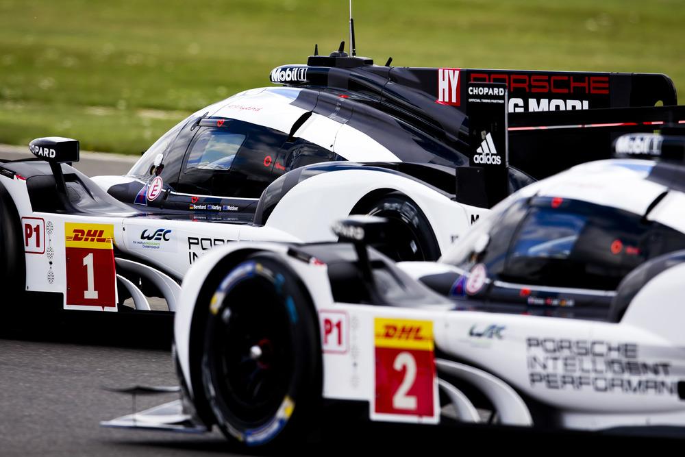 Porsche, buen fin de semana en Silverstone y Long Beach