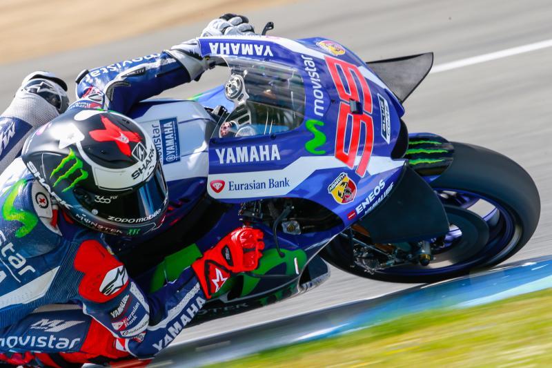 Lorenzo alcanza los 100 podios de MotoGP