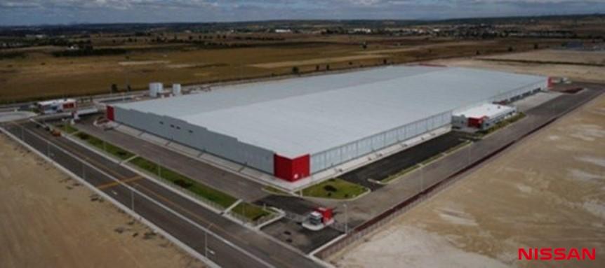Nissan con un nuevo almacén en Aguascalientes