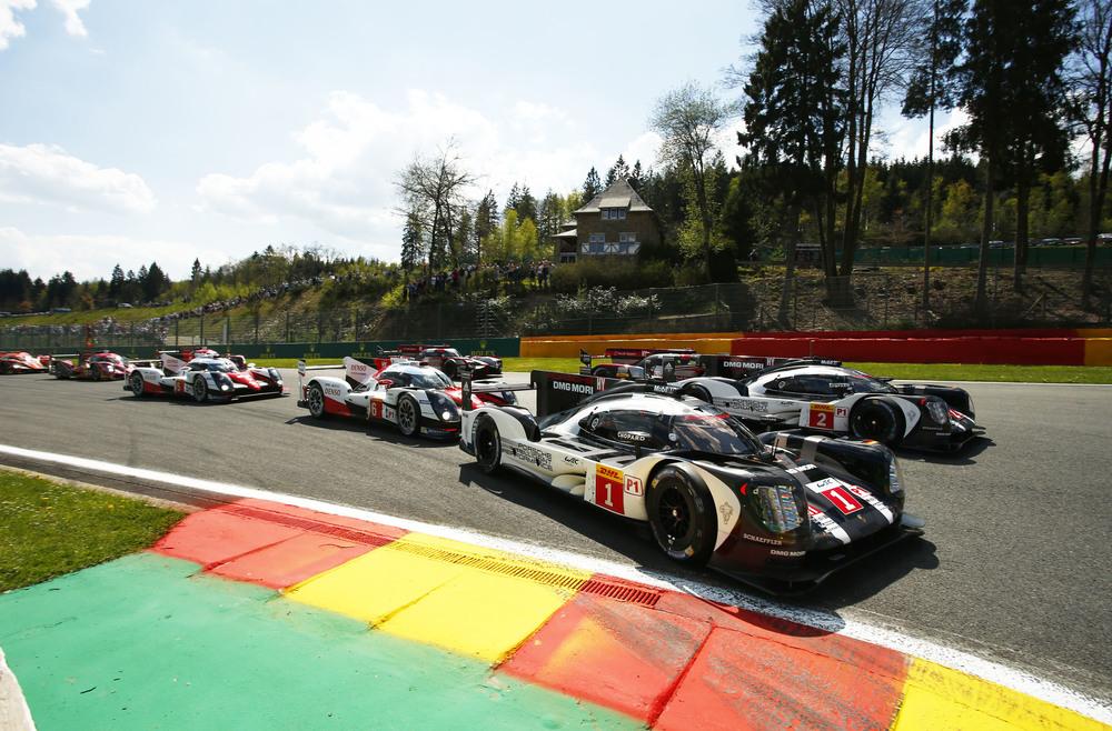 Porsche es segundo en Spa-Francorchamps, pero lidera el WEC