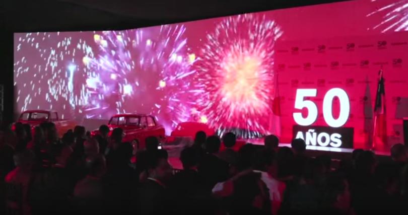 Nissan celebra su 50 aniversario en México