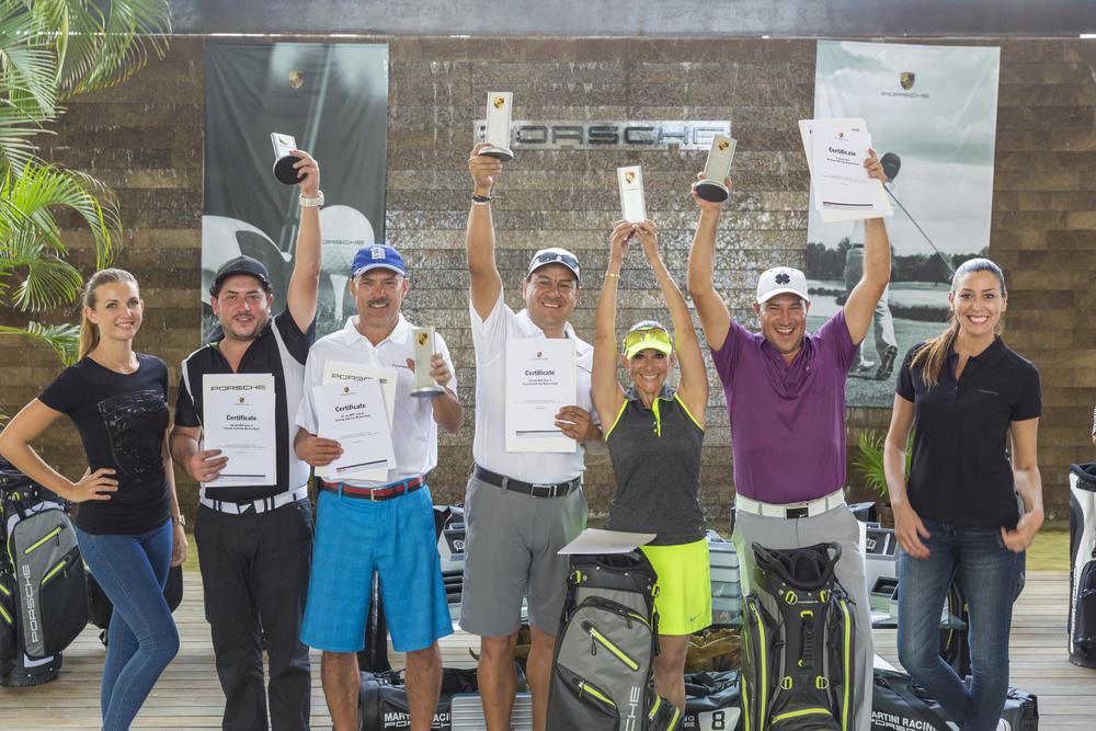 Mexicano Rubén González, ganador en Porsche Golf Cup World Final 2016