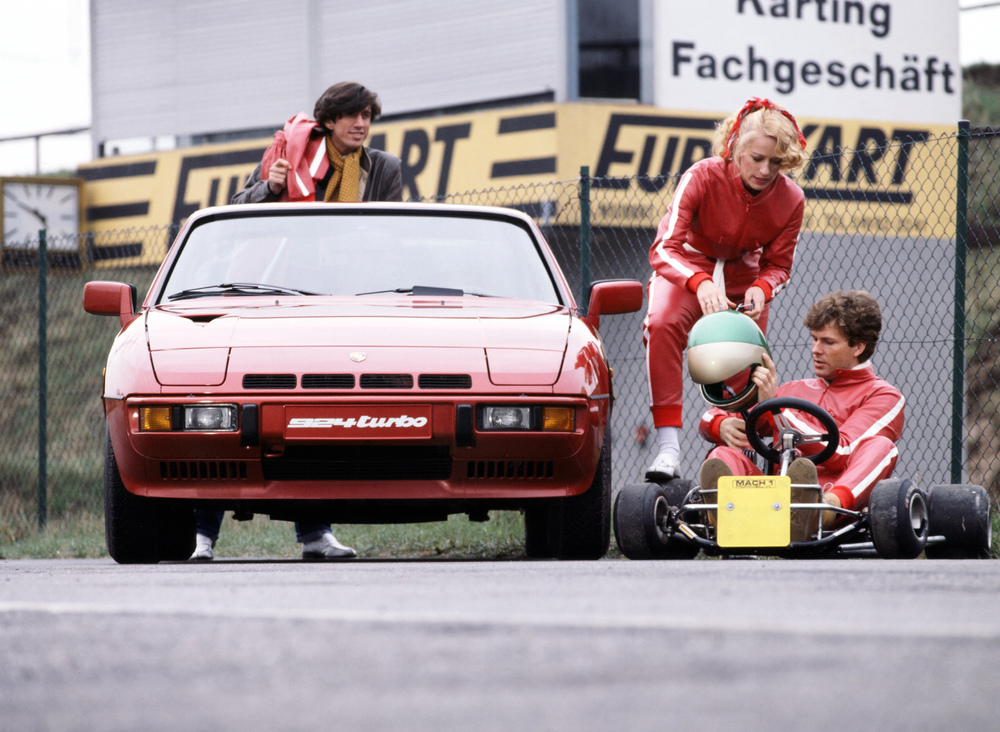40 años del Transaxle desde el museo Porsche Classic