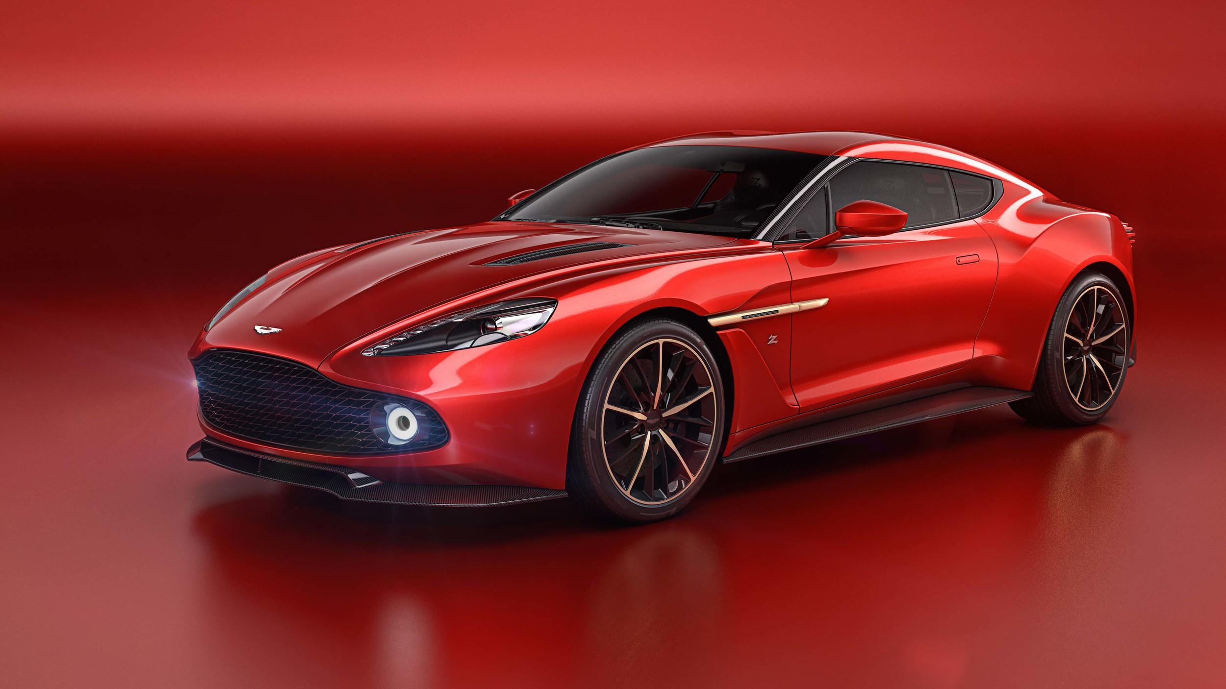 Aston Martin Vanquish Zagato a Villa d´Este