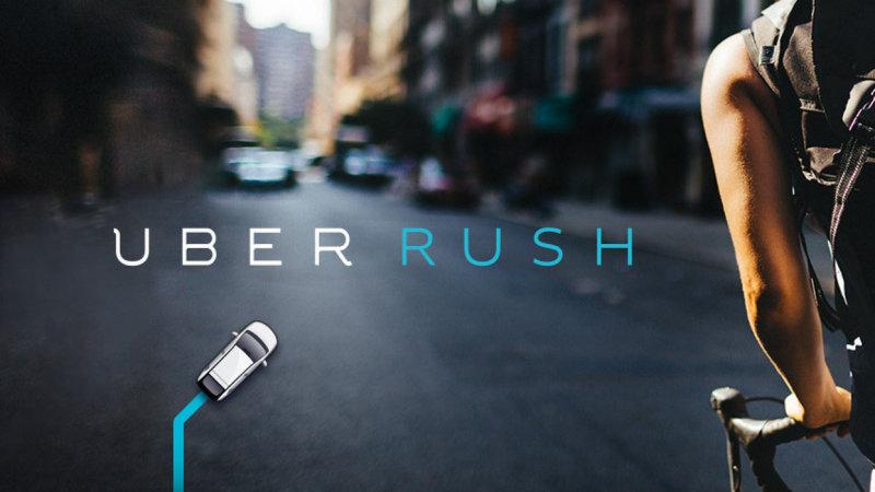UBER Rush, nuevos servicios por parte de la compañía