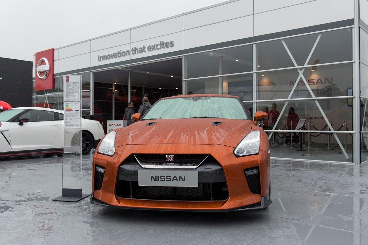 Nissan GT-R 2017 en el Festival de la Velocidad de Goodwood