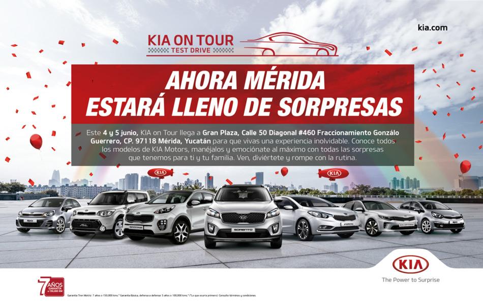 ¡Regresa KIA on Tour!