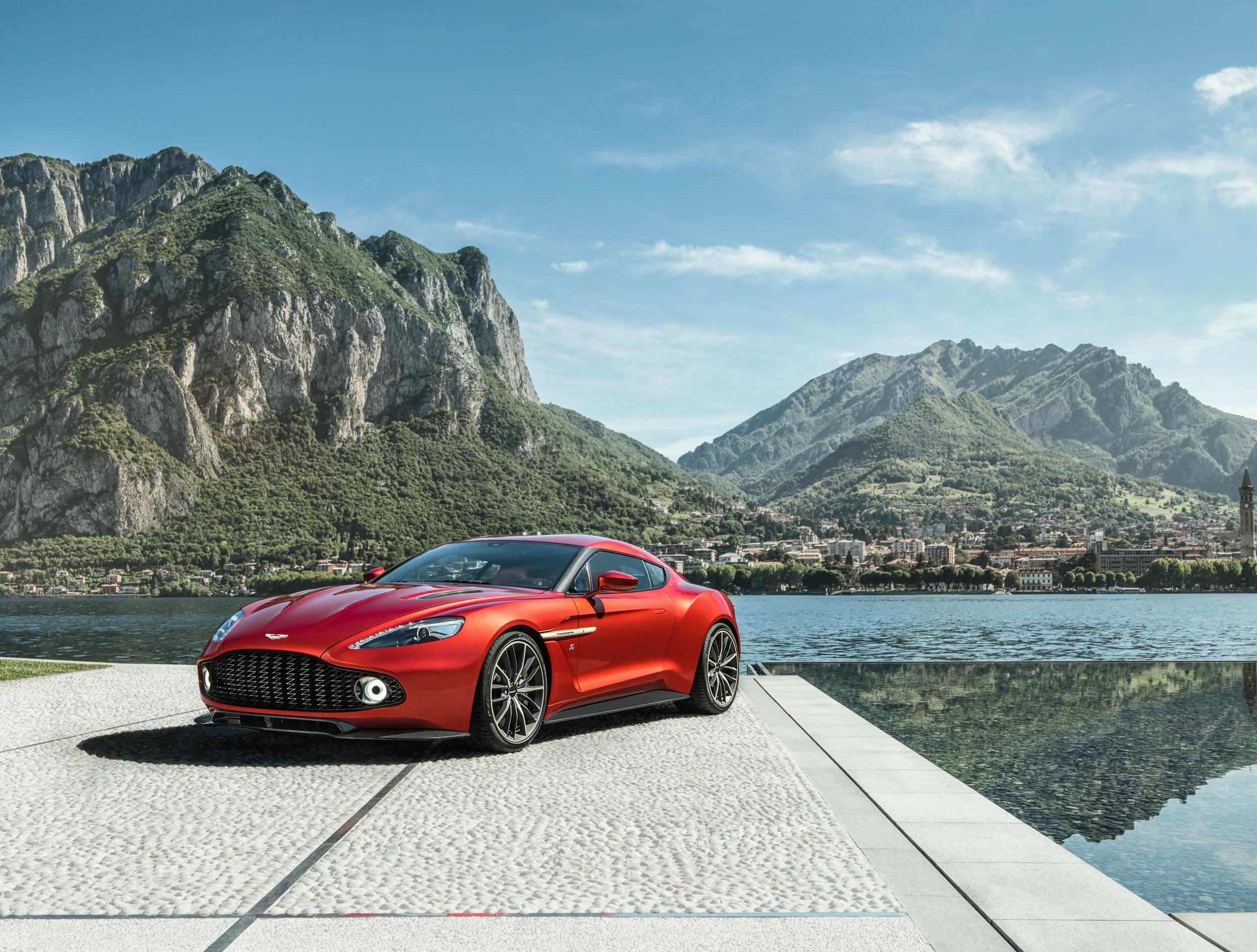 Aston Martin Vanquish Zagato a producción