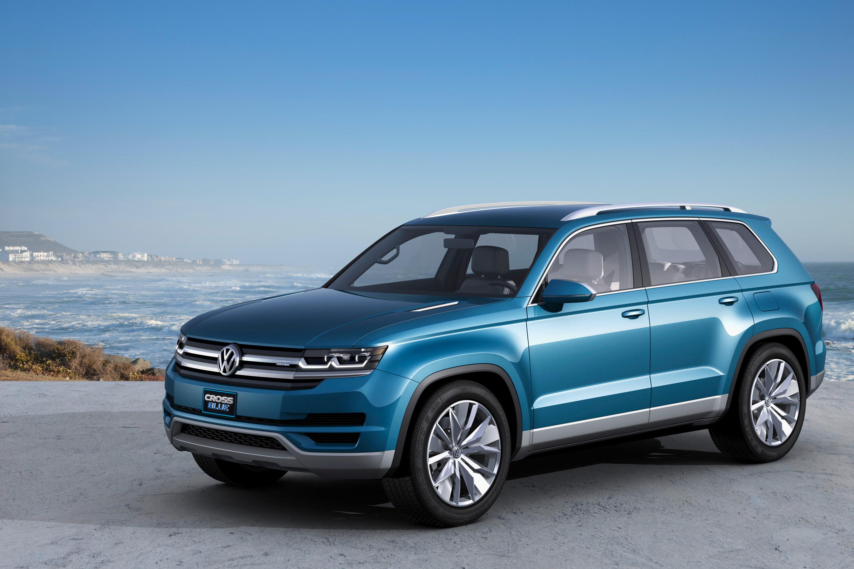 Volkswagen lanzará SUV de tres filas, que ya ha sido espiado