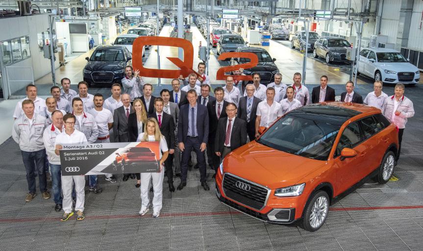 Audi inicia la producción de su nuevo SUV compacto, el Audi Q2