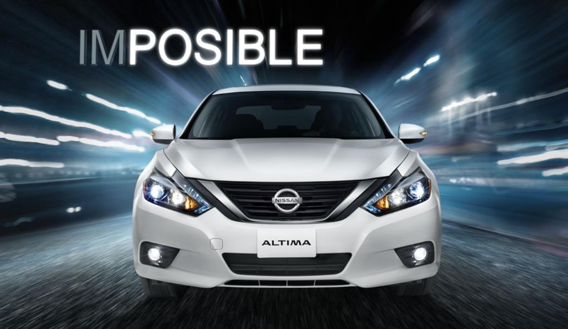 Nueva energía en Nissan: Altima 2017