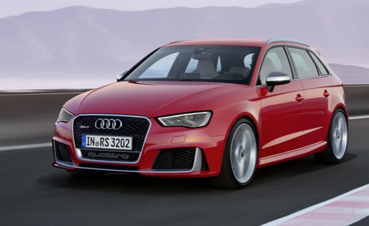 Ya viene: Audi RS3 Sedán espiado en Nürburgring