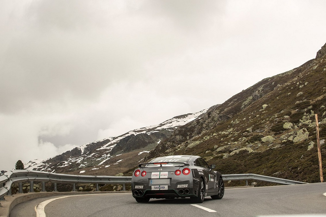 Nissan GT-R deja huella en el tour europeo 2016