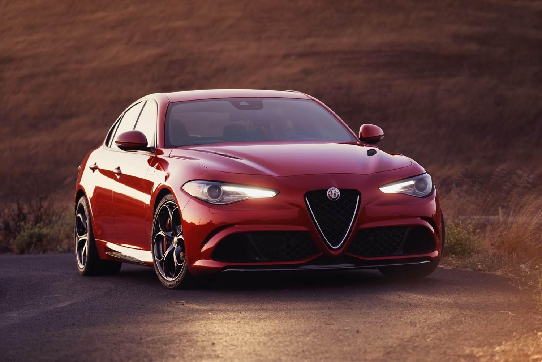Alfa Romeo Giulia , ya rueda en Europa