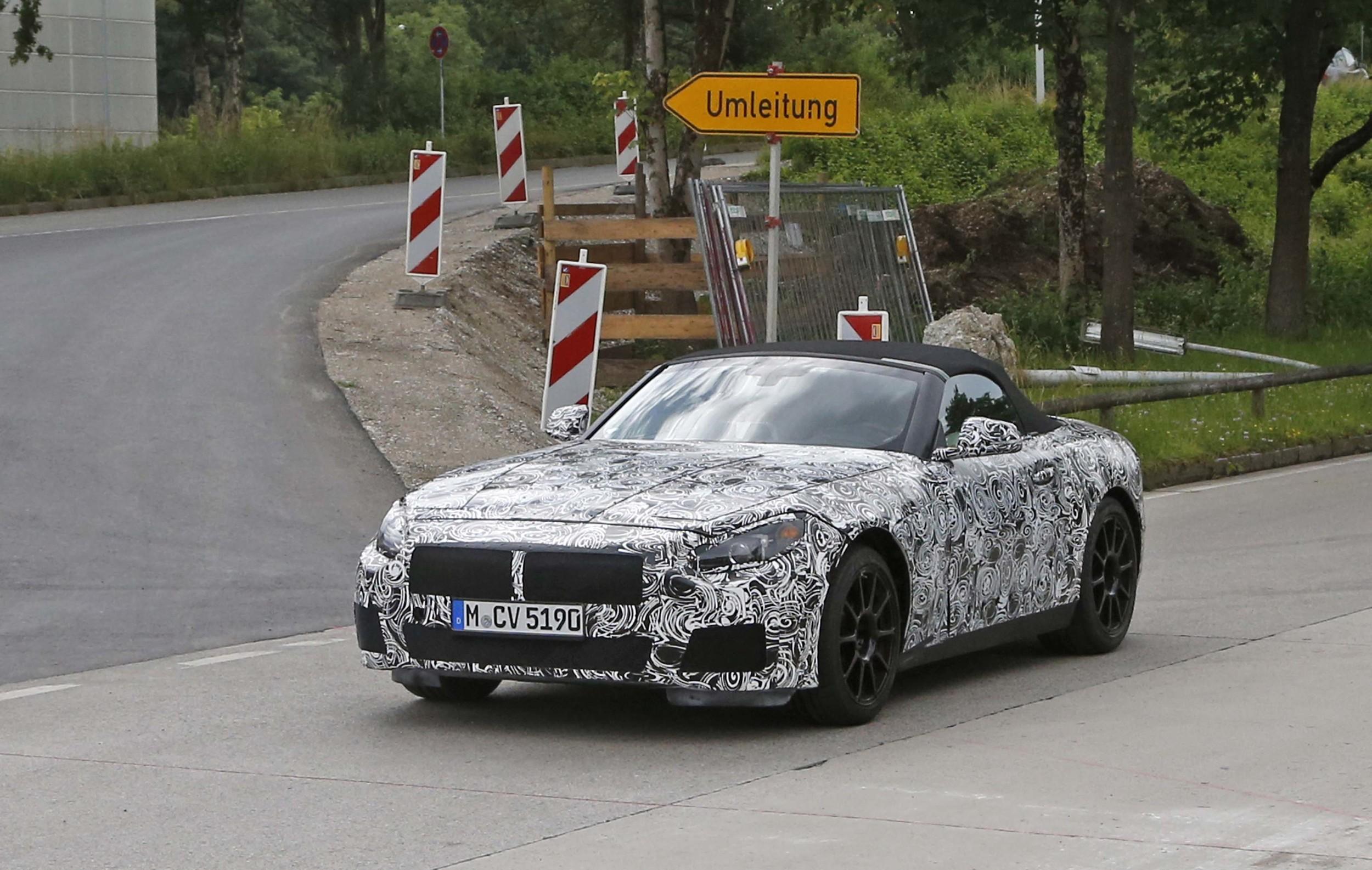 Z5 de BMW, coming soon…