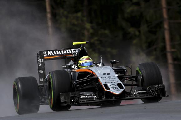 Sergio Perez (MEX) Sahara Force India F1 VJM09. Austrian Grand Prix, Friday 1st July 2016. Spielberg, Austria.