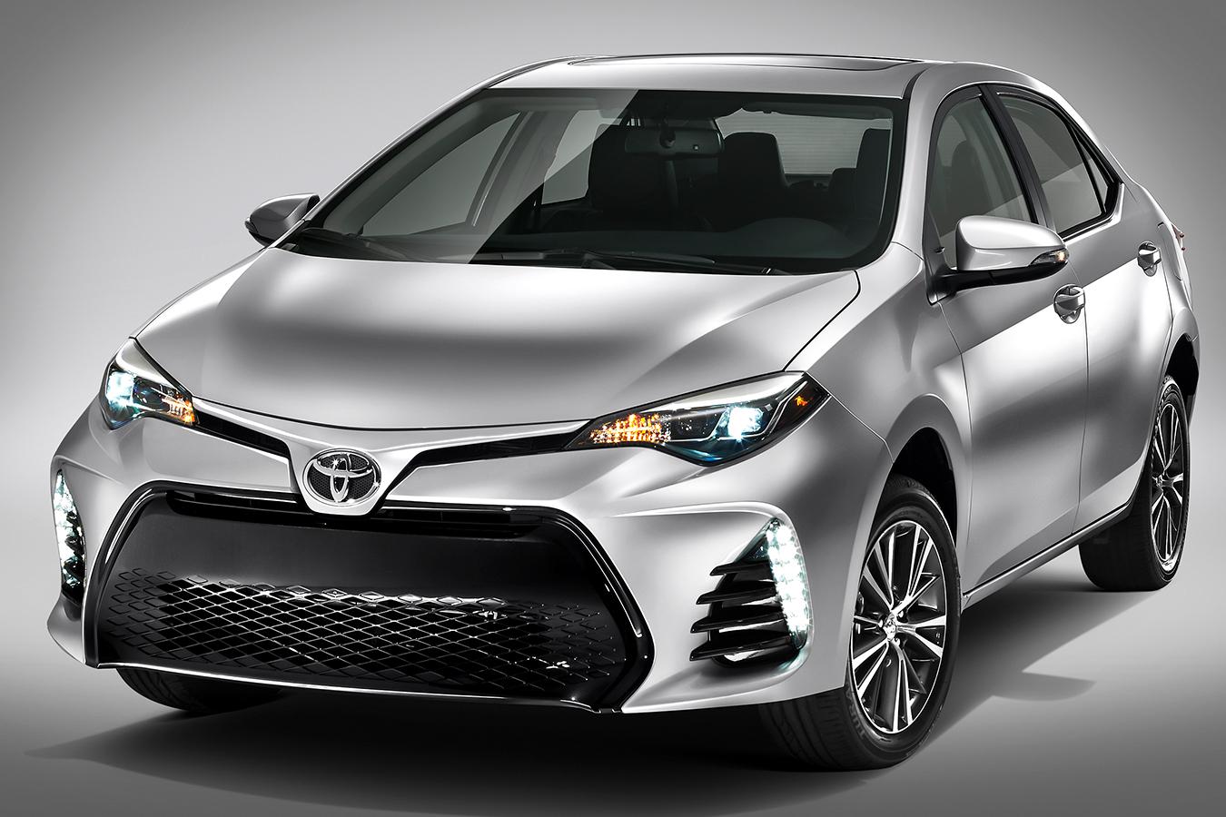 Ruta Toyota corolla 2017