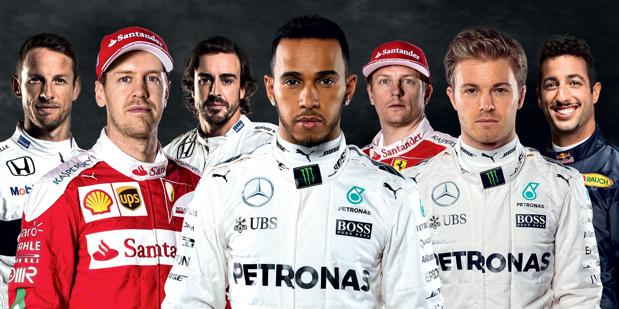 ¿Quienes son los mejores pagados de la F1?