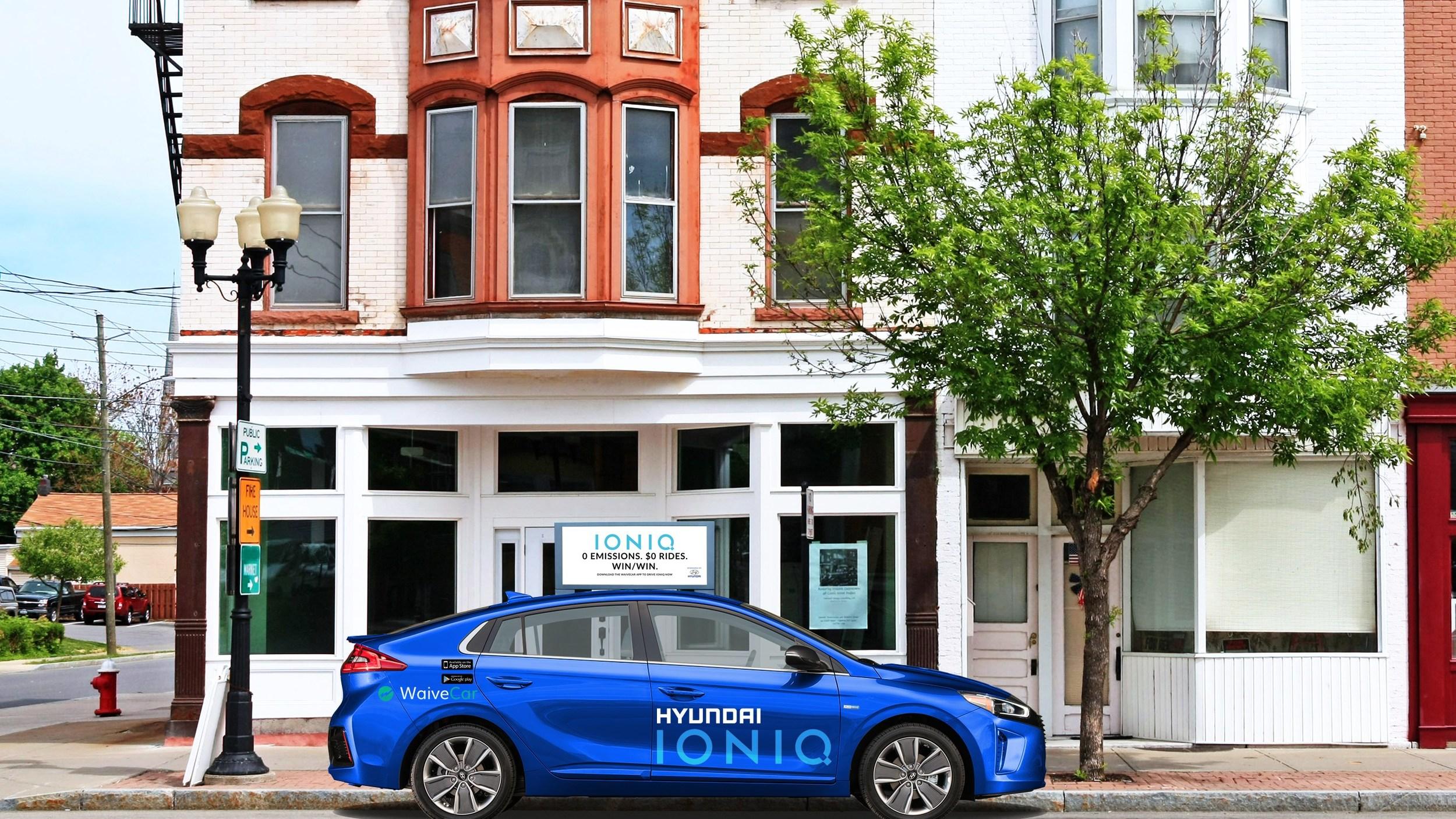 Hyundai Ioniq EV se suma al portafolio de compartidos