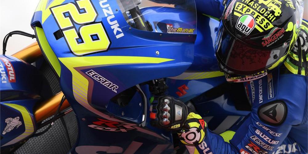 Iannone destroza el crono en el segundo dia de Sepang