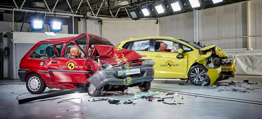 Euro NCAP dos décadas evaluando la seguridad
