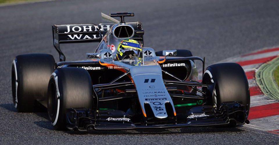 Buen balance de Checo Pérez en el primer día del F1 Testing