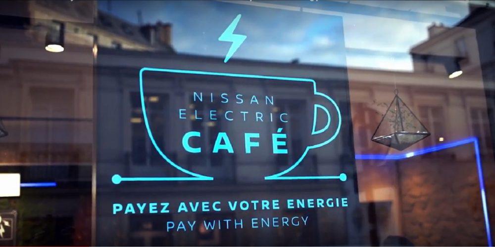 """Nissan y… un """"Electric Café"""""""